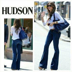 Hudson Ferris Flare Bell Bottom Jeans Soho 25